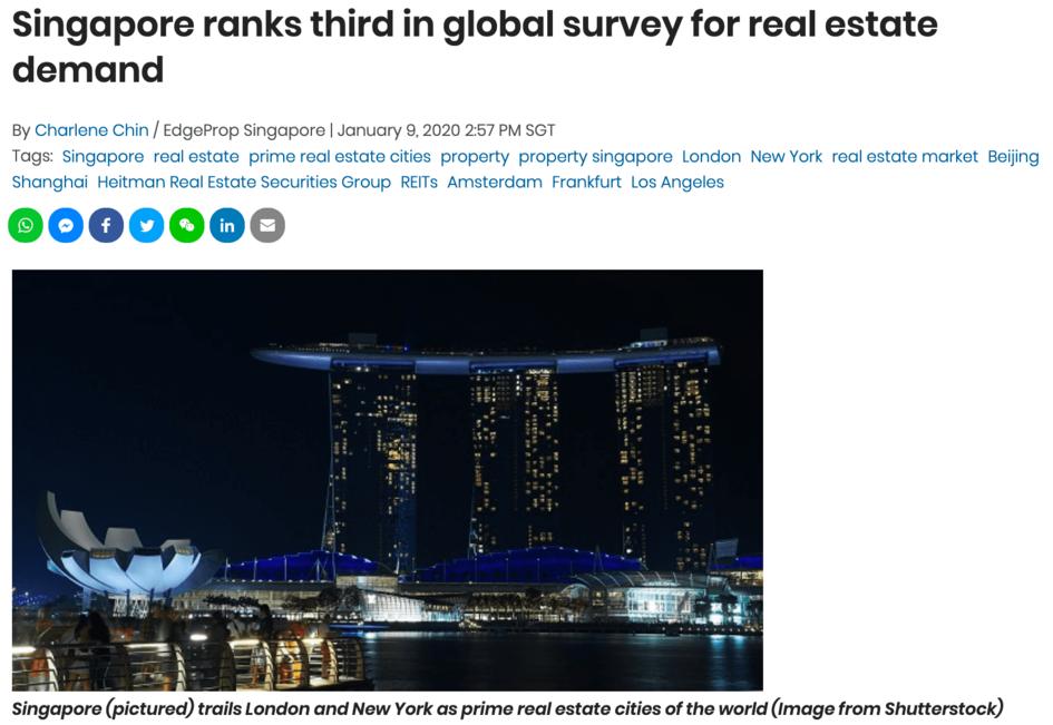 singapore-ranks-third-global-survey-real-estate-demand