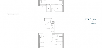 penrose-floorplan-1-bedroom-plus-study-type-(1+1)a1